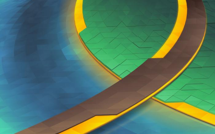 KDE Plasma 5.9 Canopee wallpaper
