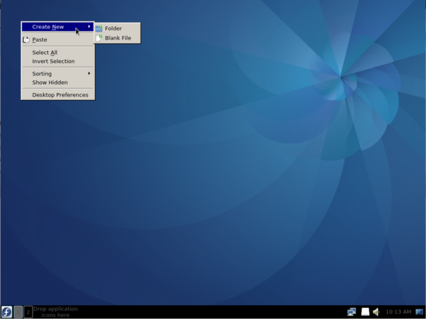 Fedora LXQt desktop
