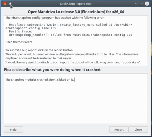 OpenMandriva Lx snapshot application