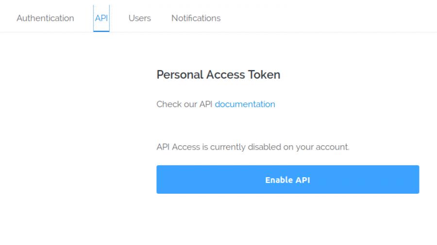 Generate Vultr Cloud platform API token
