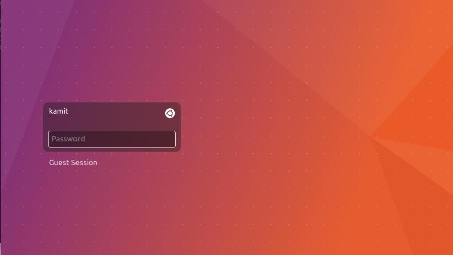 Ubuntu 17.04 login