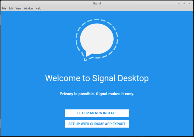 How to install standalone Signal Desktop on Ubuntu 17.10, Linux Mint 18.2