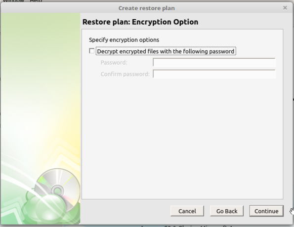CloudBerry Backup restore encryption
