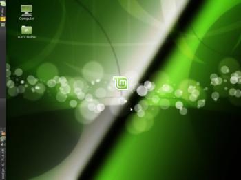 Linux Mint 8 desktop