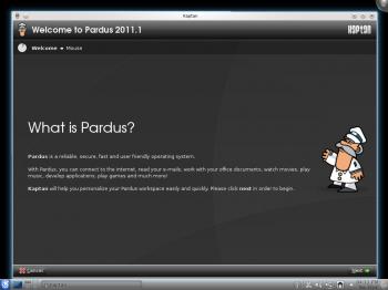 Pardus Kaptan 2011.1