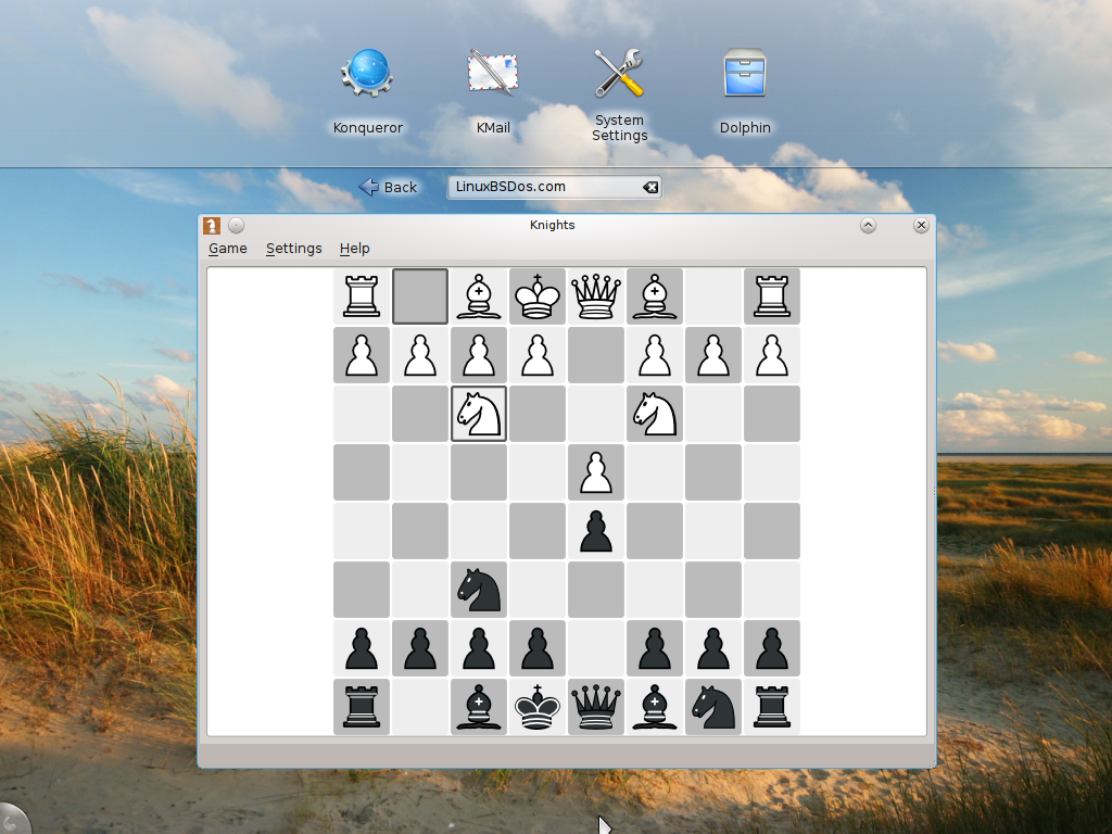 Chess on Pardus 2011.2