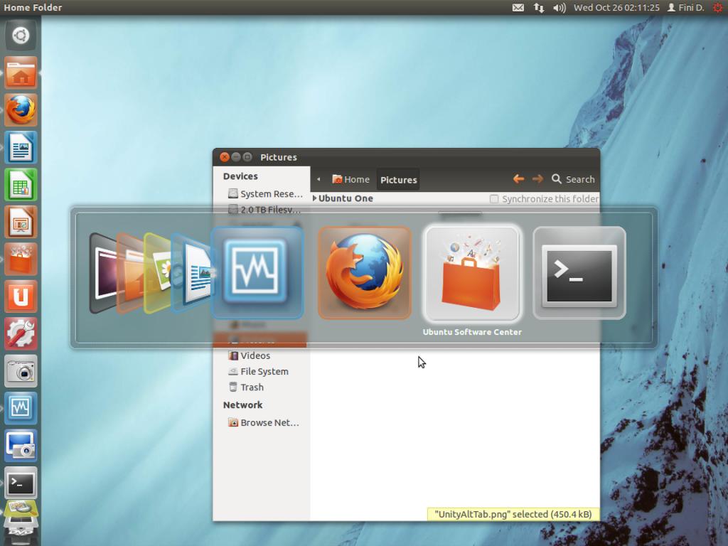 Ubuntu Unity ALT Tab