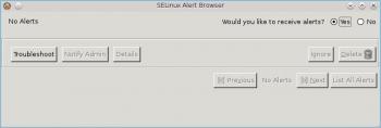 SELinux Troubleshoot Fedora 16
