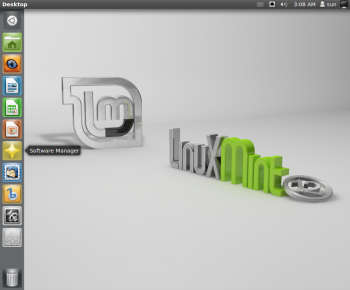 Unity Desktop Launcher Mint 12