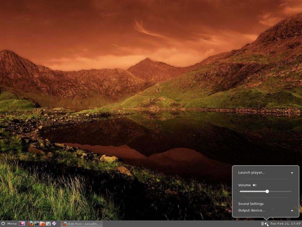 Cinnamon Panel Volume Applet Ubuntu 11.10