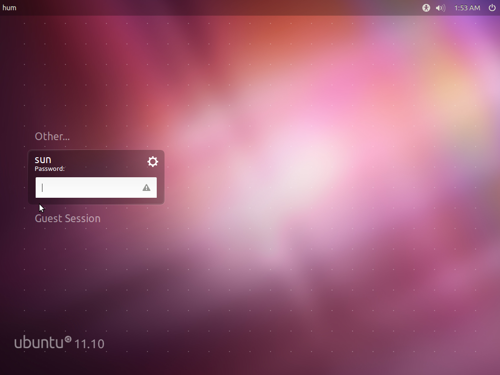 Ubuntu Business Desktop Remix Login