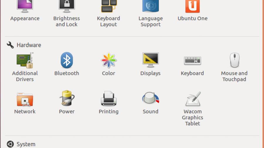 Ubuntu 12.04 Precise Pangolin System Setting
