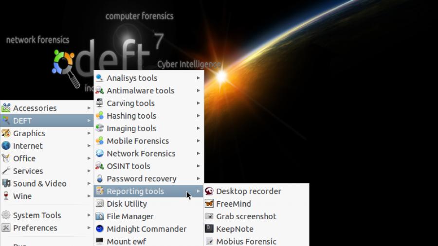 DEFT Reporting Tools
