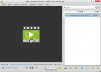 ROSA Media Player MIDI