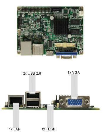 EMB-2500 ARM Freescale board