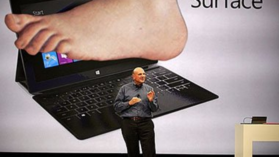 Microsoft Surface RT Windows 8 tablet
