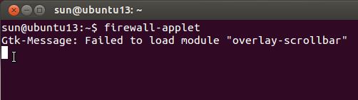 Firewalld Ubuntu 13.10