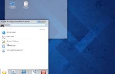 Fedora 20 KDE Kickoff menu