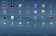 Fedora 20 KDE app launcher