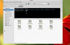 Fedora 20 MATE Caja