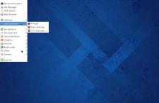 Fedora 20 Xfce menu