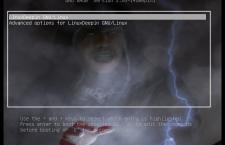 GRUB background Linux
