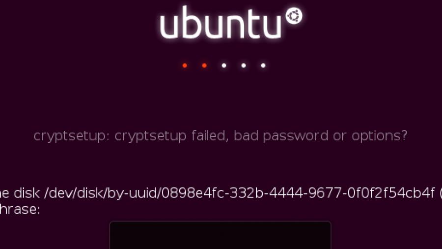 Nuke LUKS cryptsetup encrypt disk Ubuntu