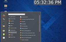 Cinnamon desktop