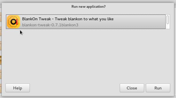 BlankOn 9 Warsi run app