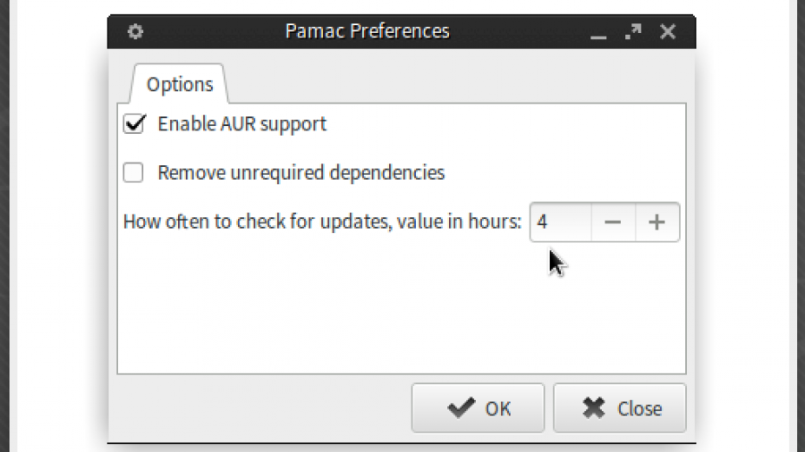 Manjaro Pamac update notifier