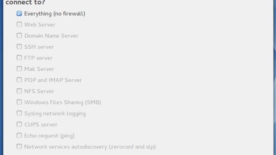 Drakfirewall on ROSA Desktop