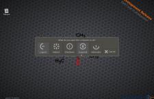 LXQt desktop shutdown option