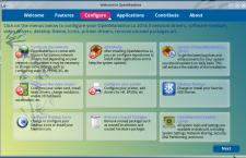 OpenMandriva Lx 2014 om-welcome configure