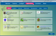 OpenMandriva Lx 2014 om-welcome office apps