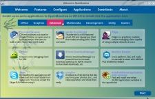 OpenMandriva Lx 2014 om-welcome graphics apps