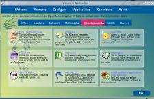OpenMandriva Lx 2014 om-welcome dev apps