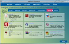 OpenMandriva Lx 2014 om-welcome utility apps