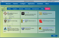 OpenMandriva Lx 2014 om-welcome game apps