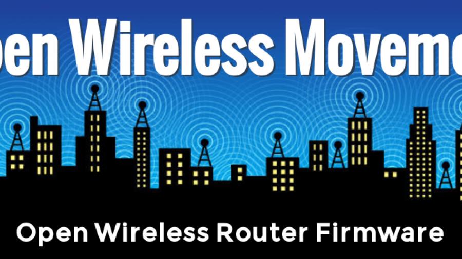Open Wireless Router firmware