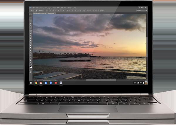Photoshop on Chromebooks