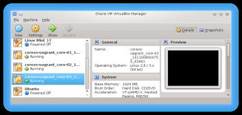 VirtualBox CoreOS cluster