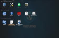 Netrunner Rolling fullscreen menu