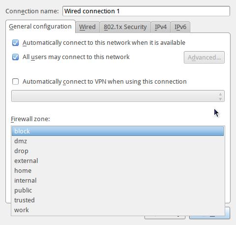 ROSA Desktop Fresh NetworkManager zomes