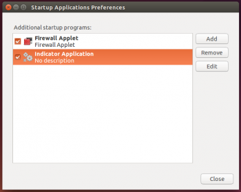 Firewall-applet Ubuntu 14.10