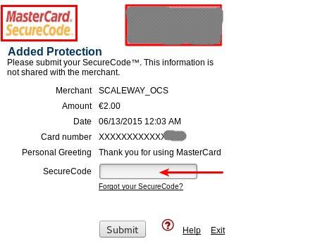 Master Card SecureCode