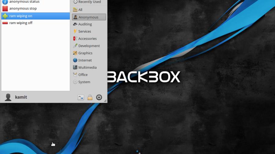 BackBox 4.3 anonymizing