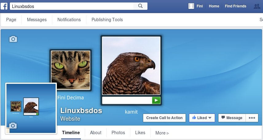 LinuxBSDos.com on Facebook