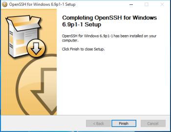 OpenSSH Windows 10