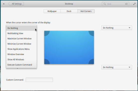 Hot Corners on elementary OS Freya 0.3.2