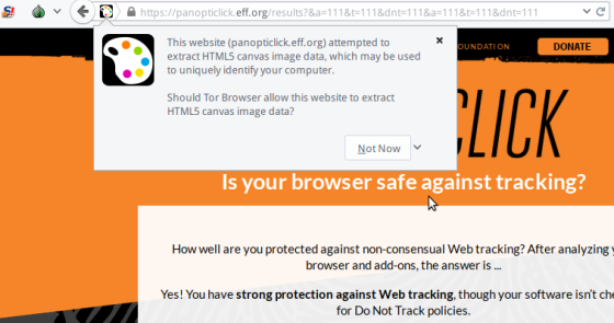 Tor and browser fingerprinting